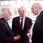 Pictured: John Horgan, Press Ombudsman, Kevin O Sullivan, The Irish Times and Matt Dempsey, Chairman NNI. Picture Colm Mahady : Fennells - Copyright 2014 Fennell Photography