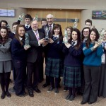 Pictured: Winners of NNI Press Pass Awards 2013 with Minster for Education, Ruairi Quinn, TD and Matt Dempsey, Chairman, NNI